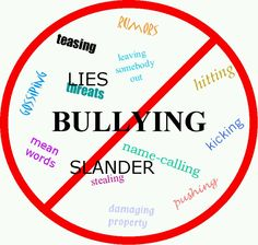i think sooner or later, the bullies are going to have to give in to kindness and stop bullying with us.