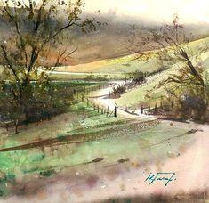 Keiko Tanabe Watercolor Paintings