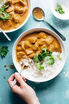 Chicken Tikka Masala - creamy, perfectly spicy, and ready in 30 minutes! you won't believe how easy it is to make this at home!