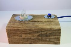 Handmade wooden lamp Teeth by BlauthHandMade on Etsy