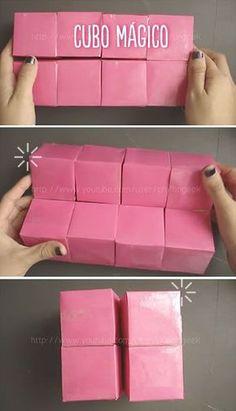 Como hacer un cubo mágico con varias caras para poner fotos es muy sencillo. Te enseño en este tutorial para que tengas el regalo indicado para esa personita especial. #manualidades #diy