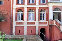 A truly unique Historic Estate. Corfu, Venetian, Mansions, House Styles, Unique, Home Decor, Decoration Home, Manor Houses, Room Decor
