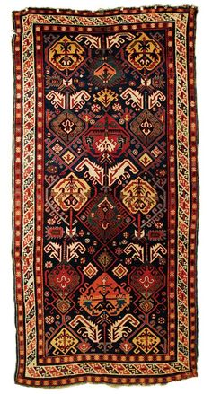 Grogan and Company | CAUCASIAN LONG RUG, second half of 19th century 11 feet 4 inches x 5 feet 7 inches