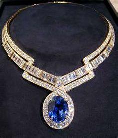 Sapphire 70ct Diamond Necklace