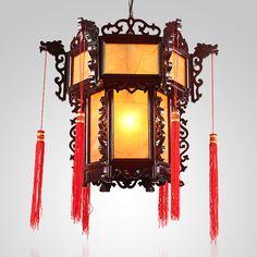 Antique Chinese lantern/chandelier.
