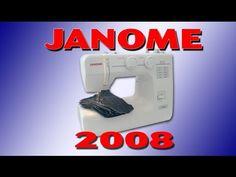 JANOME 2008 - VÍDEO AULA COMPLETO - YouTube