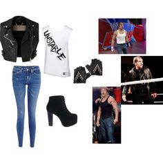 Cute, simple, and Dean Ambrose inspired... I LOVE IT<3