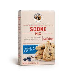 Chocolate Fudge Bundt Cake   King Arthur Flour Baking Scones, Bread Baking, Sour Cream Scones, Drop Scones, Scone Mix, Homemade Scones, Dried Blueberries, Blueberry Scones, King Arthur Flour