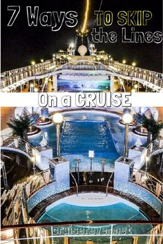 We all hate waiting in lines, and being on a cruise ship is no exception. While lines are a part of life, here are seven ways you can help bypass lines on a cruise. And no, line cutting is NOT an option.
