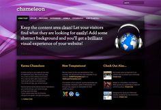 Hot Chameleon by hot-themes on Creative Market
