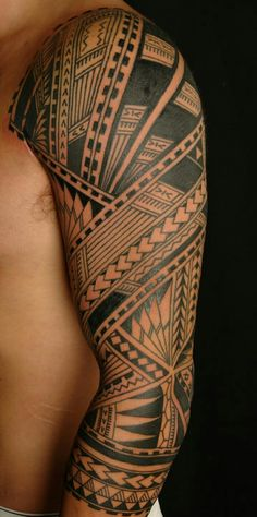 Polynesian Sleeve Tattoo Designs, ] ~ Popular Tattoo Design, - why not visit our site for more inspirational tattoo ideas? Tribal Tattoo Designs, Tribal Arm Tattoos, Polynesian Tattoo Designs, Leg Tattoos, Body Art Tattoos, Tattoos For Guys, Tatoos, Polynesian Sleeve Tattoo, Hawaiian Tattoo