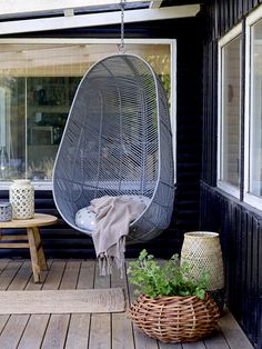 Hanging Chair from Bloomingville