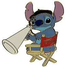 Disney Pin Stitch Director Pin Disney