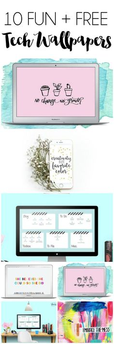 10 Fun Free Tech Wallpapers