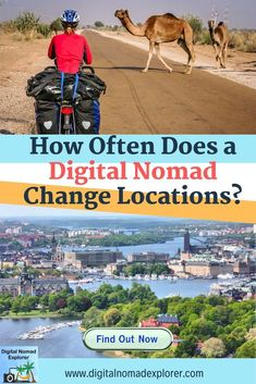 How Often Does a Digital Nomad Change Locations? Travel Jobs, Work Travel, Digital Nomad, Travel Couple, Travel Inspiration, Traveling By Yourself, Adventurer, Consideration, Explore Travel