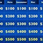 Jeopardy Fun Math Review  Math Classroom Freebies And Fun Math