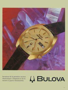 1972 Bulova Watch Ad