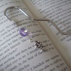 Enchanted Castle Bookmark by MLinksDesigns on Etsy