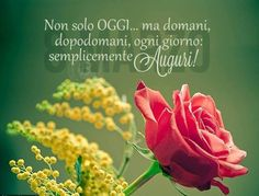 Happy Women's Day Prayer For Protection, Italian Quotes, Desperate Housewives, Good Morning Good Night, 8th Of March, Happy Women, Ladies Day, Decoration, Lily