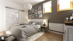 PORTFOLIO - Średnia duża sypialnia małżeńska, styl rustykalny - zdjęcie od PEKA STUDIO