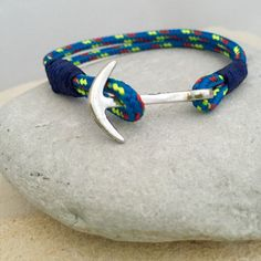 Items similar to Silver Anchor bracelet on Etsy Gifts Delivered, Bracelet Sizes, Snug Fit, Anchor, I Shop, Bracelets, Silver, Etsy, Jewelry