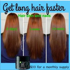 Hair skin nails by itworks! This stuff is truely amazing! My hair feels so good :) Itworks Other