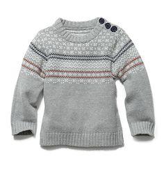 Joe Fresh Baby Boy's Crewneck Sweater $19.00