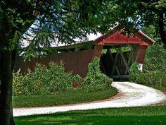 Johnson Road covered bridge (Jackson County), Ohio.    Don O'Brien/Flickr