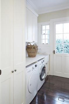 Do not miss out these fantastic Basement Laundry Makeover Projects Laundry Decor, Laundry Room Organization, Laundry Room Design, Laundry In Bathroom, Laundry Rooms, Basement Laundry, Laundry Cupboard, Laundry Tips, Laundry Shoot
