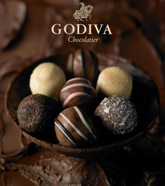#Godiva #Truffles #Chocolate