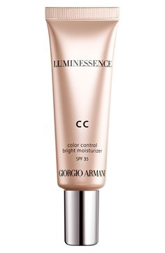 How to use Giorgio Armani color control bright moisturizer: Apply once and your skin will appear as rested as after a good night's sleep.