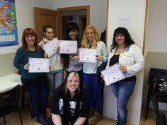 Alumnas del curso de extensiones de pestañas #cursoextensionesdepestañasmadrid #extensionesdepestañas