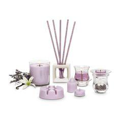Kerzenformen im Duft Lavendelblüte / Nos bougies dans la fragrance Fleur de lavande