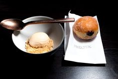 Doughnut and Ice Cream at Shelter - Where to Eat in Helsinki Finland - A Helsinki Food Guide