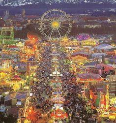 Oktoberfest sky view