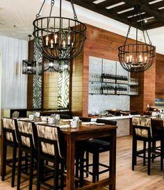 Restaurant Lighting | iWorks Satin Black | Made in LA | Custom Made by iWorks