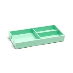 Poppin Mint Bits + Bobs Tray | Modern Office Supplies | Cool Desk Accessories #workhappy