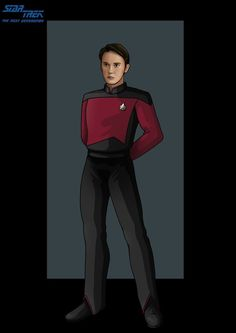 Ensign Wesley Crusher by *nightwing1975 on deviantART
