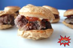 Protein Bagel Buns Recipe - The Story of 18 Mini Burgers - Protein Pow