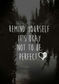 Because you were born to be real not to be perfect, so be yourself, love yourself. | @kimludcom