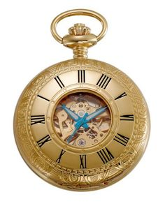 Gotham Men's Gold-Tone 17 Jewel Mechanical Covered Pocket Watch # GWC14036G - http://www.bestwatchdeals.co/men/pocket-watches/gotham-mens-gold-tone-17-jewel-mechanical-covered-pocket-watch-gwc14036g/ #Covered, #Gold, #Gotham, #GWC14036G, #Jewel, #Mechanical, #Mens, #Pocket, #Tone, #Watch