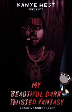 Kanye West :: My Beautiful Dark Twisted Fantasy