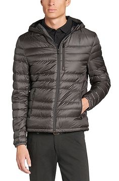 Quilted jacket with down filling: 'Donnan'
