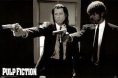 Pulp Fiction Poster Print, 36x24 Movie Poster Print, 36x24 $0.09