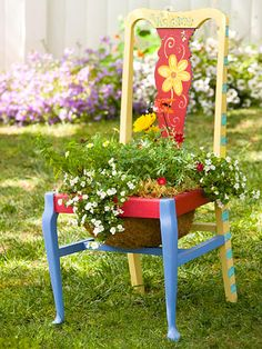 Chair Planter!