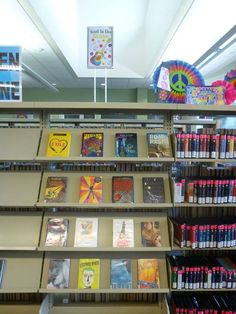 Summer Reading Program- Read to the Rhythm 2015 book display at the Temecula Public Library Teen Zone