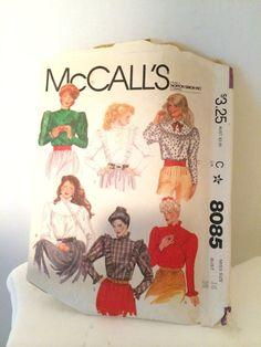 Oh Buffy Vintage McCall's Sewing Pattern by SoaringHawkVintage