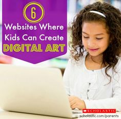 Keep these 6 digital art websites handy for a rainy day with your #kids!