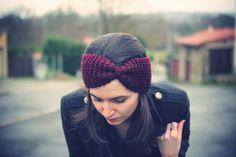 Bandeau laine headband Emilie