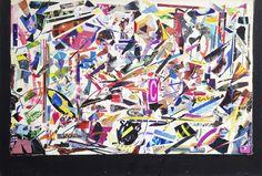 """Saatchi Art Artist: Fabian Giles; Paint 1991 Collage """"C-295 No refund No Exchange"""""""